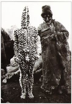 Selk'nam/Ona, Hain initiation ceremony spirits, Patagonia.
