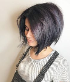 Bob Hairstyles for 2019 Awesome color! ❤️ Bob Hairstyles for 2019 Awesome color! Latest Short Haircuts, New Short Hairstyles, Short Haircut Styles, Hairstyles Haircuts, Straight Hairstyles, Cool Hairstyles, Long Hair Styles, Fashion Hairstyles, Bob Styles