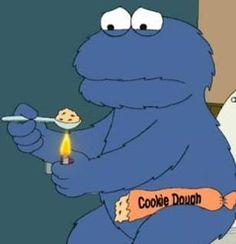 Cookie Monster... rock bottom.