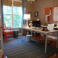 modern home office by Nicole Lanteri