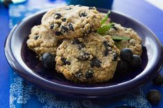 Start your day in the most delicious way, with these incredible blueberry breakfast cookies!