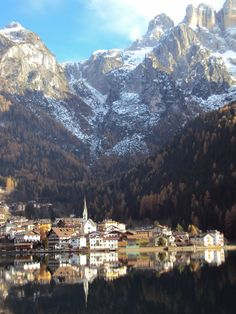 #Alleghe - all sport possibilities in one resort- skiing, mountainbiking, hiking & much more,  #Italy