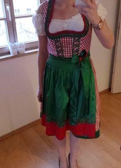 Kaufe meinen Artikel bei #Kleiderkreisel http://www.kleiderkreisel.de/damenmode/trachtenmode/130801746-rot-grunes-dirndl-von-landhaus