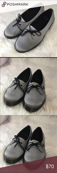 Dr Martens💯 authentic, 2-eyelet loafers sz 8. EUC EUC. No box. Worn once for an event. I have an injured ankle and won't be able to use loafers and flats cos of lack of ankle support. Make an offer, bundle to save, ladies! Pet and smoke-free home.  PS: Ladies, be considerate with your ratings, I try to keep my prices low and accept all your offers reason why I try not to spend on wraps and extra packagings. I make sure that the products described are exactly what you' gonna get ❤️ Dr…