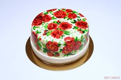 Sekrety Cookietki: Tort w malowane róże