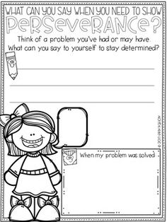 Classroom Guidance Lesson - Perseverance Elementary Guidance Lessons, Character Education, School Counselor, Social Work, Counseling, Therapy, Classroom, Teacher, Messages