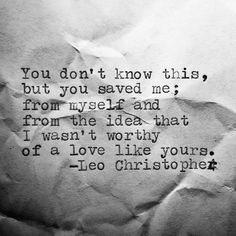 leo christopher saved me receipt series 31 Leo Christopher Love Quotes For Him, Quotes To Live By, Thank You For Loving Me, Save Me Quotes, My Husband Quotes, Soulmate Love Quotes, Why I Love You, R M Drake, Leo Christopher