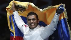 Gold for Venezuela | Ruben Limardo Gascon won the men's Individual Epee... after 44 years Venezuela wins an olimpic gold medal