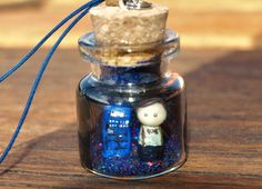 Dr Who and TARDIS Ornament by RomanticRiver on Etsy