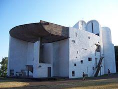 corbusier architecture -Ronchamp