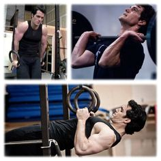 Henry Cavill training under Mark Twight's instruction for Man of Steel (1 of 5)