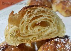 Croissant o cornetti sfogliati con Lievito Madre Naturale o Pasta Madre