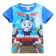 T-shirt Thomas le petit train