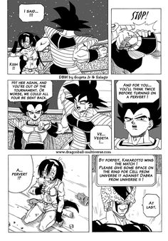Two giants face-to-face. - Page 105 - Dragon Ball Multiverse #SonGokuKakarot