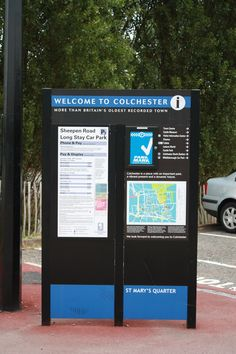 IRS Colchester car parking signs