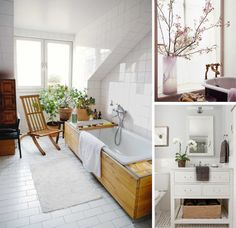 How to turn your bathroom into a spa-like retreat.... #relax