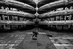 SKATE VS ARCHITETTURA: LE FOTO DI LUKE PAIGE A PARIGI