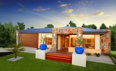 Builders of single and double storey homes, town houses and medium density housing in Victoria, South Australia, New South Wales and Queensland. Simonds Homes, Storey Homes, Dream House Exterior, Stamford, Townhouse, Ideal Home, New Homes, Layout, House Design
