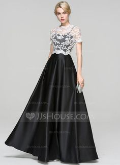 [US$ 96.69] Ball-Gown Sweetheart Floor-Length Satin Prom Dress