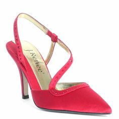 J. Renee   Quest Heel - Red
