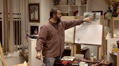 """In the art studio ""Flying Fish"" Watercolor Techniques, Winter Landscape, Watercolor Landscape, Master Class, Fish, Studio, Home Decor, Art, Art Background"