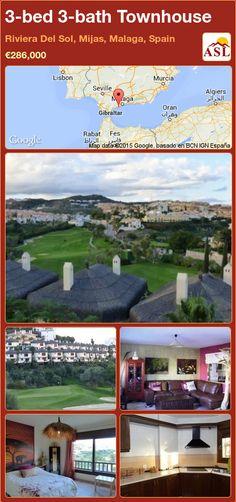 3-bed 3-bath Townhouse in Riviera Del Sol, Mijas, Malaga, Spain ►€286,000 #PropertyForSaleInSpain