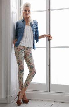 Current Elliott Shirt, Jeans  Joie Camisole