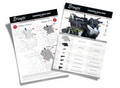 La société Ermax, spécialisée dans le thermoformage plastique, a été créée à Marseille en 1978. Elle produit des accessoires motos & scooters. Création des notices de montage pour les accessoires Ermax® Montage, Creations, Design, Marseille, Accessories, Design Comics