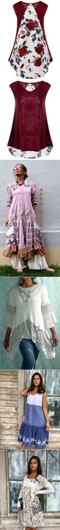 Upcycled Clothing в Pinterest
