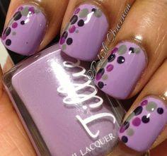 Polka dots ;0) THE MOST POPULAR NAILS AND POLISH #nails #polish #Manicure #stylish