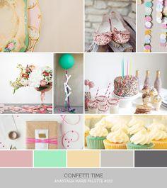 Inspire: Palette #154: Confetti Time