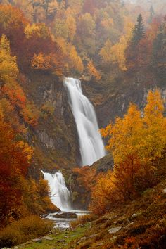 Saut deth Pish  Val d' Aran  Catalonia