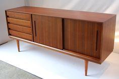 Beautiful new Mid Century Danish Style Sideboard. $900.00, via Etsy.