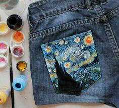 Starry night pocket!