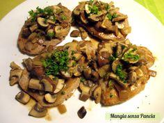 Prosciutto di maiale ai funghi, ricetta leggera