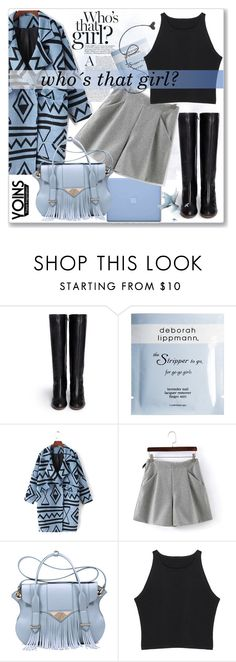 """""""Yoins X"""" by nerma10 ❤ liked on Polyvore featuring Chloé, Deborah Lippmann, Ella Rabener, MustHave and yoins"""