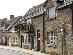 love the houses in the little town Corfe Castle, Great Britain, Cottages, My Dream, My Photos, Photographs, England, Houses, Spaces