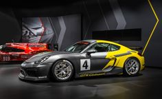 2016 Porsche Cayman GT4 Clubsport: A Turn-Key Track Weapon - Photo Gallery of Auto Show from Car and Driver - Car Images - Car and Driver