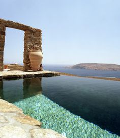 pool with a breath taking view/feel