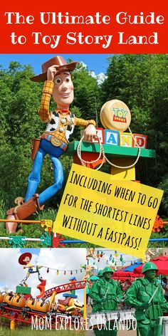 Ultimate Guide to Toy Story Land at Hollywood Studios All Disney Parks, Disney World Florida, Disney World Vacation, Disney World Resorts, Disney Vacations, Walt Disney World, Disney Worlds, Disney Travel, Florida Travel