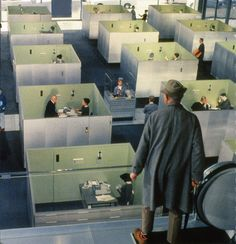 Jacques Tati's Playtime (1967) So much to see and so far ahead of its time.