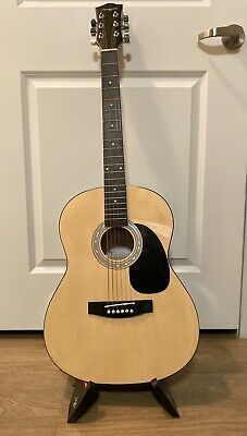 Martin Smith 38 Inch Acoustic Guitar Natural Guitar Acoustic Acoustic Guitar