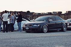 Audi S4 B6 on Rotiform BLQs  http://ridesandstyling.com/audi-s4-b6-gray-rotiform-blq.php