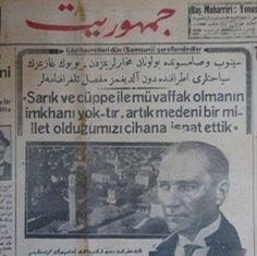 """Kazım Karabekir anlatıyor; """"10 Temmuz 1923 Ankara istasyonundaki kalem-i mahsus binasında Fırka nizamnamesini müzakereden sonra, Gazi ile yalnız kalarak hasbihallere başlamıştık.""""Dini ve nam…"""