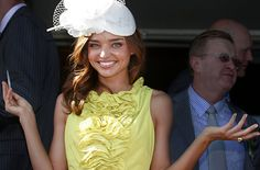 White and yellow I believe is perfect for a Derby weekend