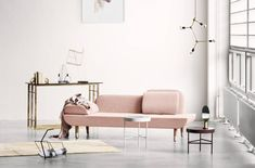 Must-Have: Roséfarbene Couch!