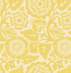 HEIRLOOM by Joel Dewberry BLOCKPRINT BLOSSOM in Dandelion Cotton Quilt Fashion Fabric 1 yard