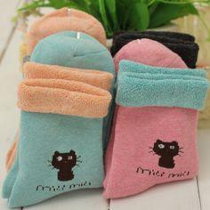 Cat socks: cool socks for women //Price: $6.18 & FREE Shipping //     #cat lovers