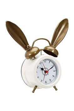 The Emily + Meritt bunny clock
