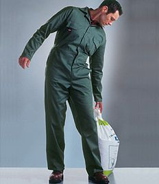 Dickies Redhawk Economy Stud Front Coverall from £22.49